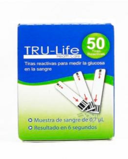 TIRILLAS REACTIVAS TRUE LIFE X 50 UNDS